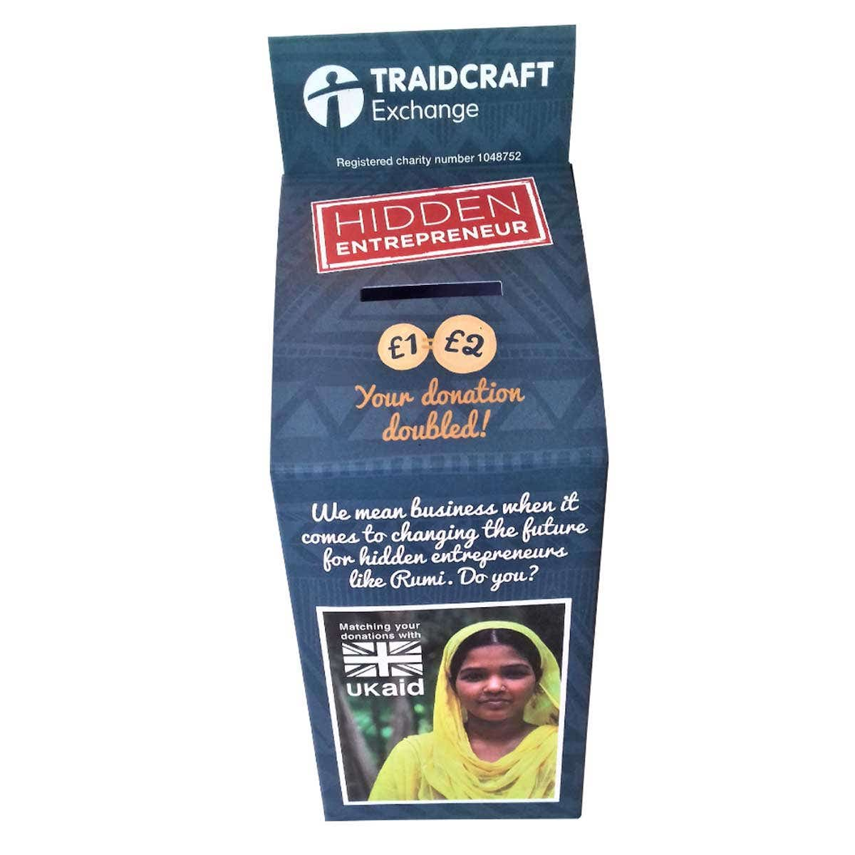 Traidcraft Collection Box