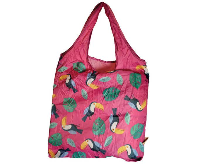 Recycled Shopper with Pouch