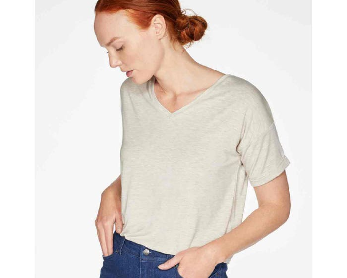 Thought Eliza Seacell Cream T-Shirt