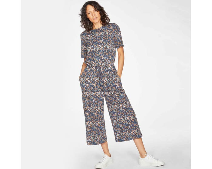 Thought Madelyn Bamboo and Organic Cotton Jumpsuit Size 10