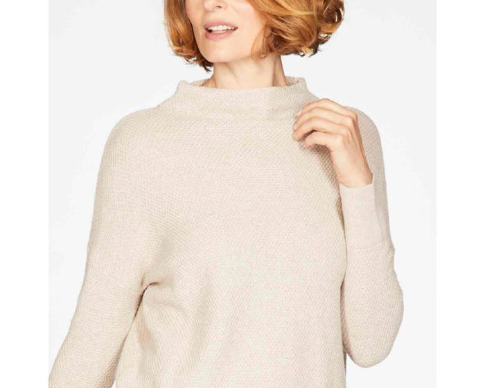 Thought Imogen Organic Cotton and Wool Jumper Size 14