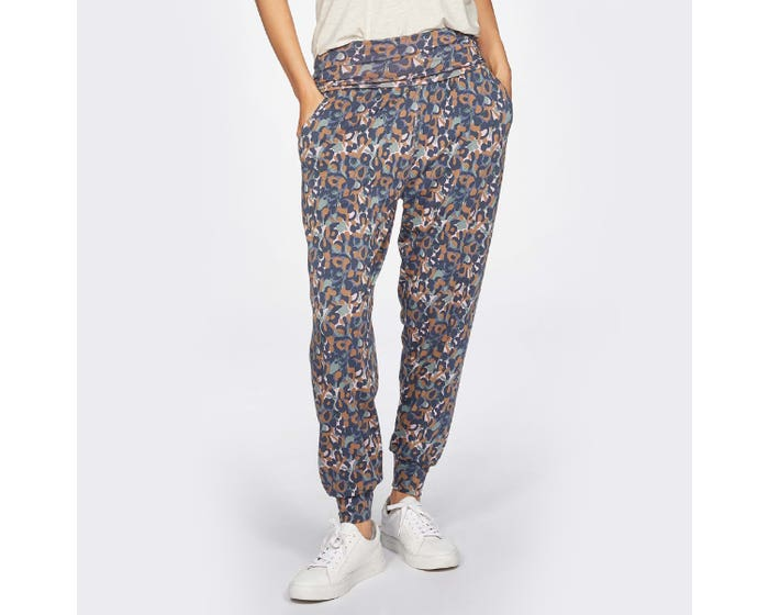 Thought Madelyn Patterned Slacks Small
