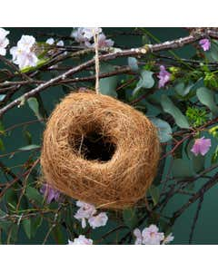 Coconut Fibre Birdhouse Ball