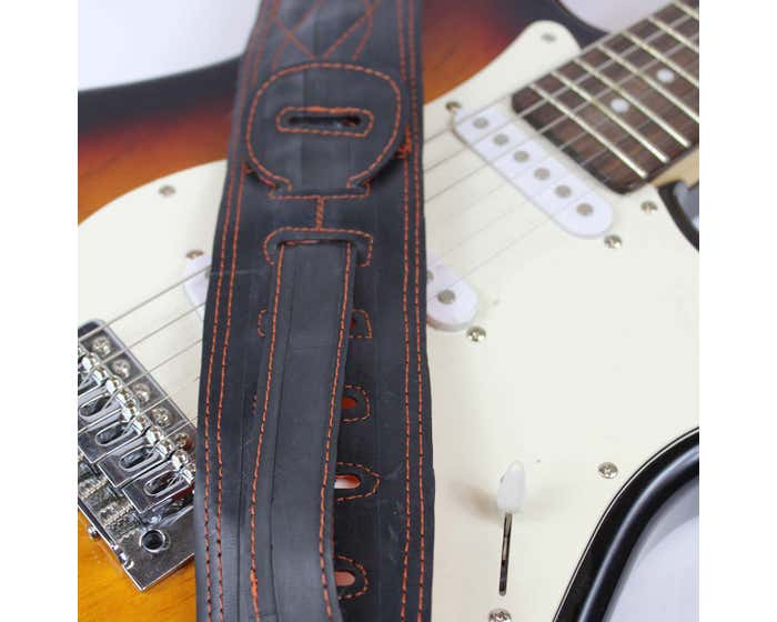 Cycle of Good Recycled Inner Tube Guitar Strap