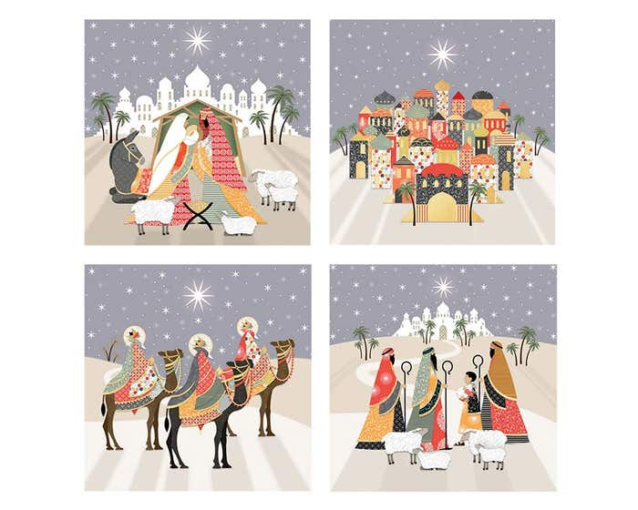 Patchwork Christmas Cards