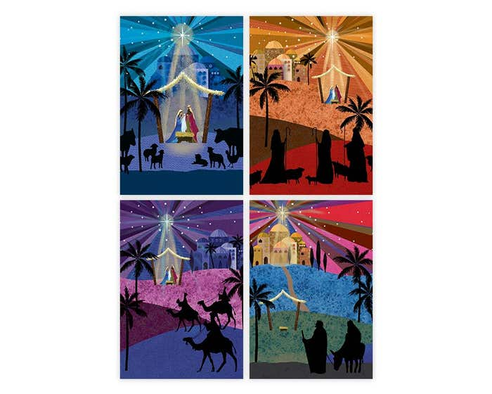 Silhouettes Christmas Cards