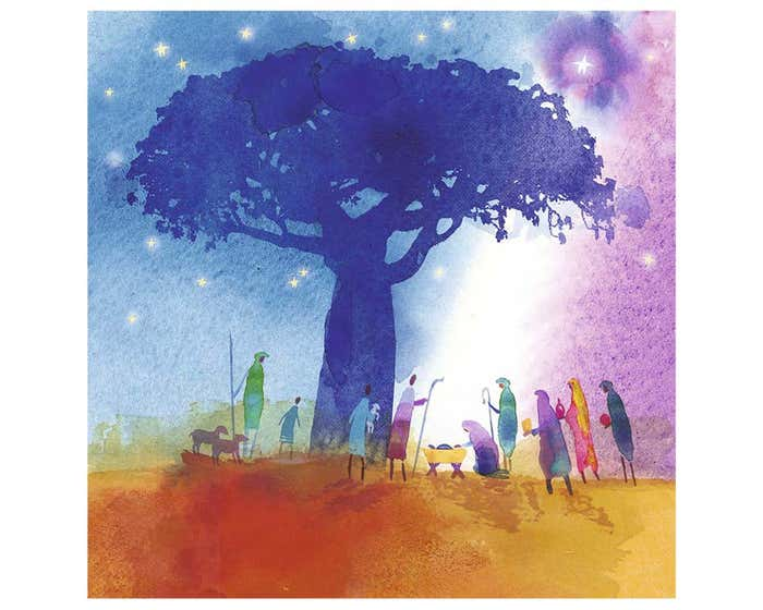 Under The Baobab Tree Christmas Cards