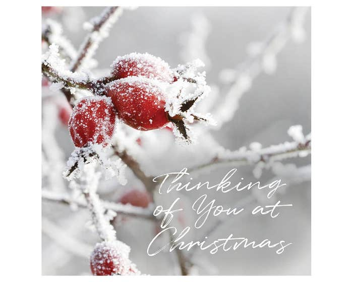 Thinking Of You Christmas Cards
