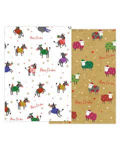 Woolly Warmers Christmas Gift Wrap