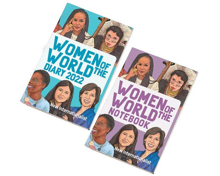 Women of the World Diary & Notebook 2022