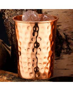 Hammered Copper Glass - 300ml