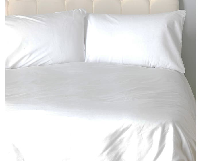 Fairtrade and Organic White Duvet Cover - Double