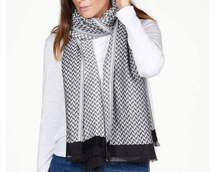 Thought Tessa Organic Cotton and Recycled Acrylic Shawl Scarf