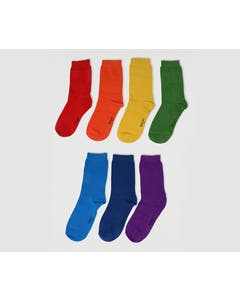 Thought Children's Bamboo and Organic Cotton Blend Rainbow Socks in Gift Box