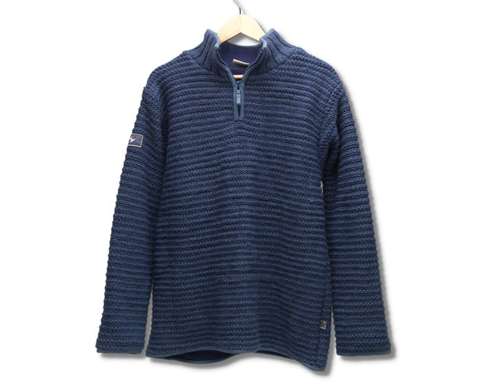 Men's Byron Bay Half-Zip Jumper (Medium/Large)