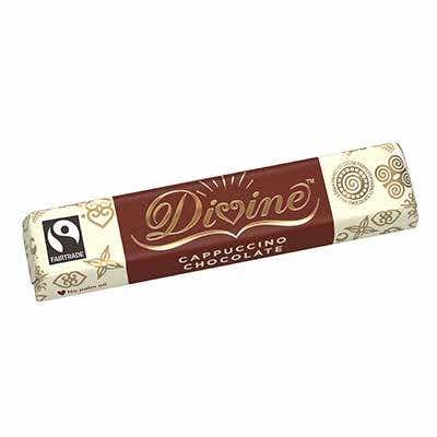 Divine Cappuccino Chocolate Display Box (30x35g)