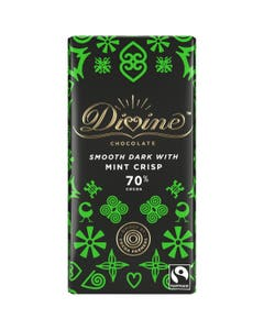 Divine Dark Chocolate with Mint (90g)