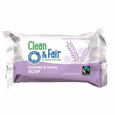 Clean & Fair Lavender & Honey Soap (125g)