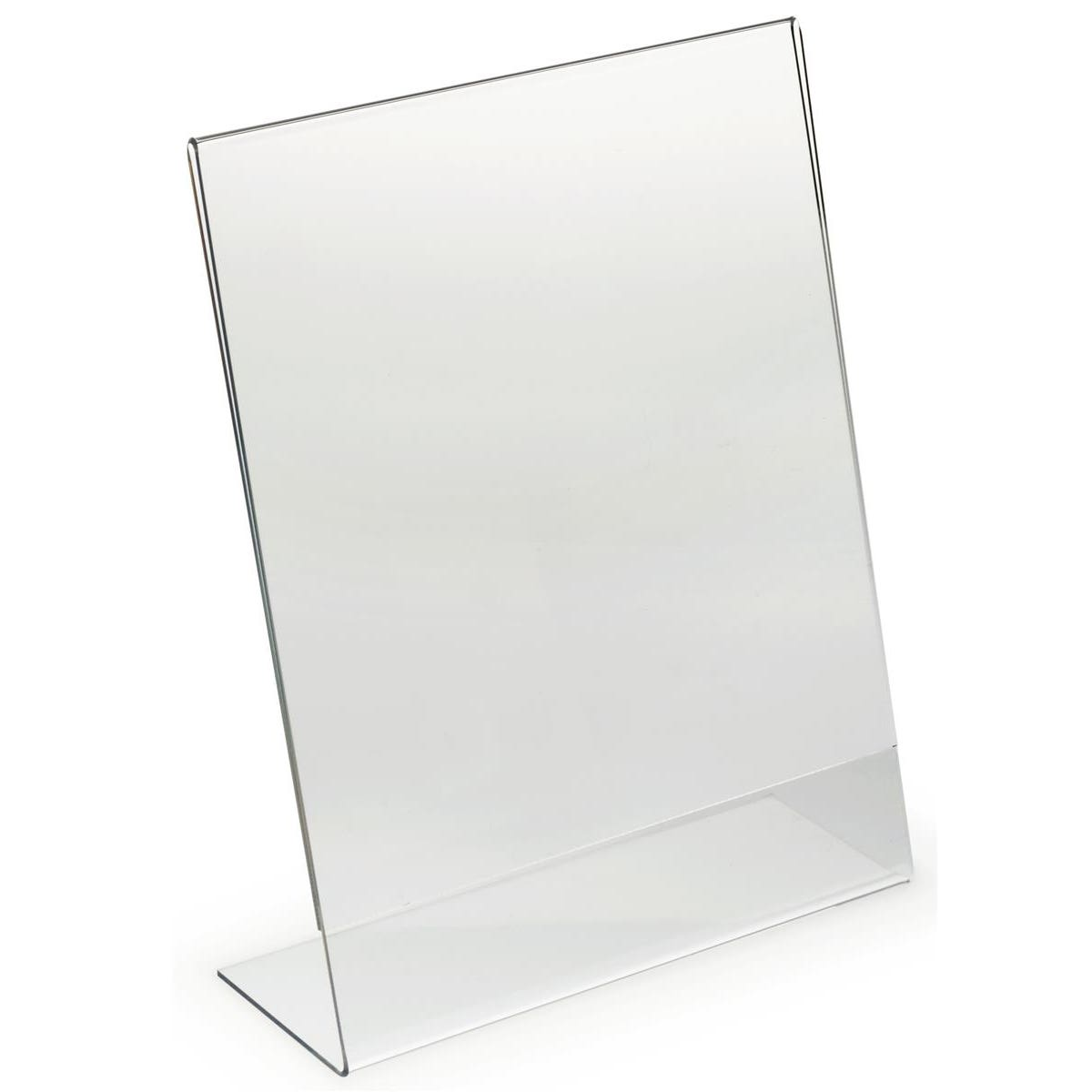 Acrylic Free Standing Poster Holder