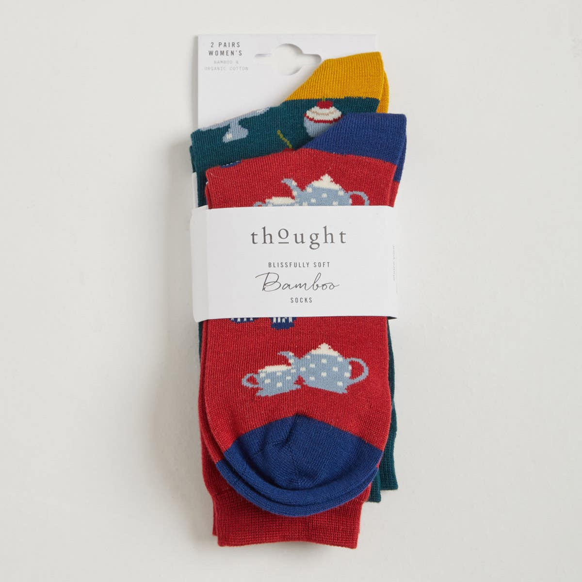 Thought Tea and Cake Women's Sock Gift Pack