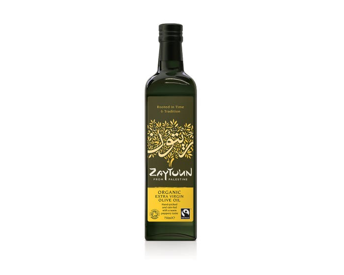 Zaytoun Organic Extra Virgin Olive Oil (750ml) SINGLE