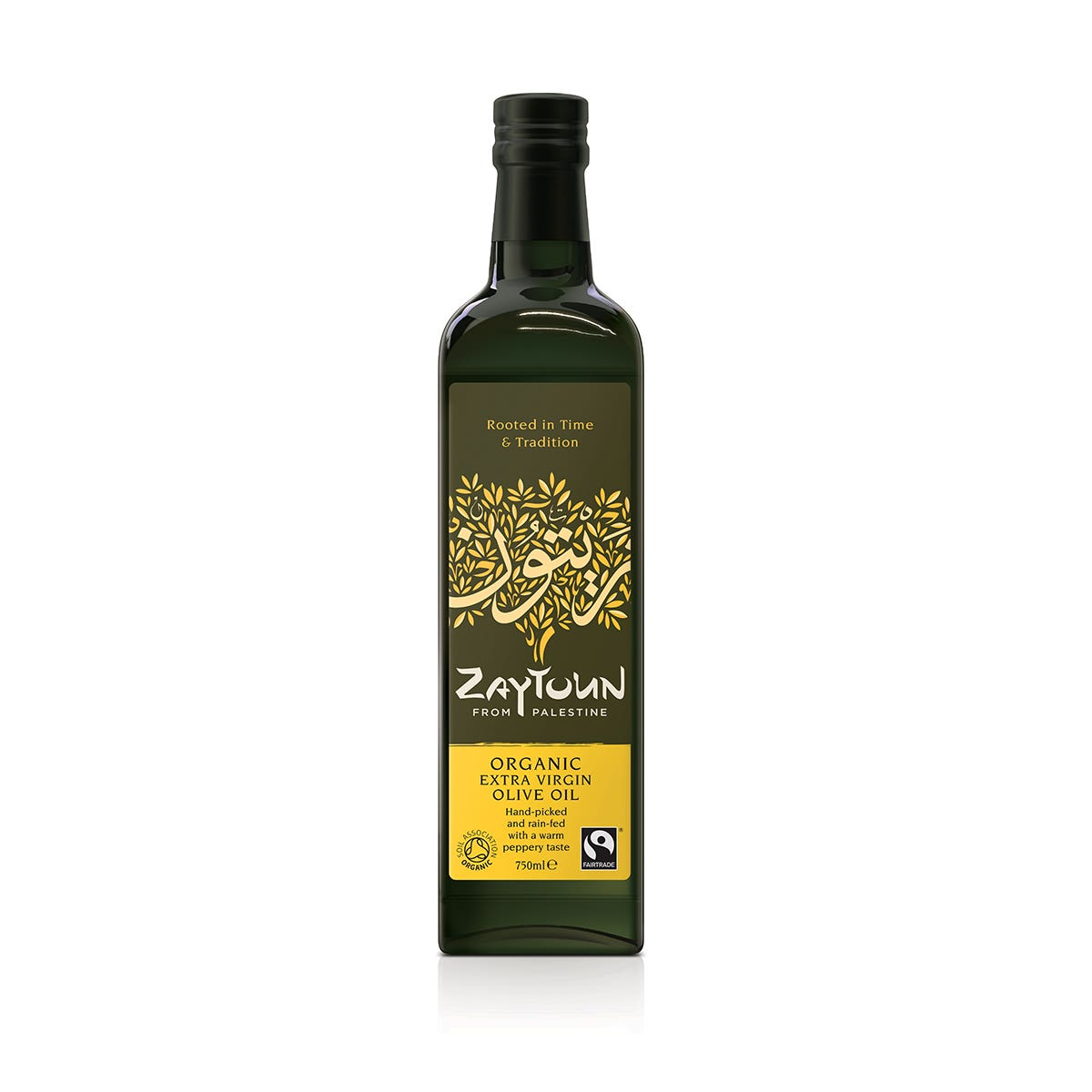Zaytoun Organic Extra Virgin Olive Oil (6x750ml) CASE