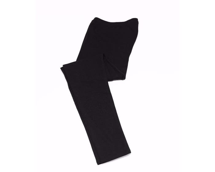 Thought Bamboo Mix Women's Black Leggings (Size 12)