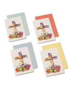 Floral Cards with Pressed Flowers