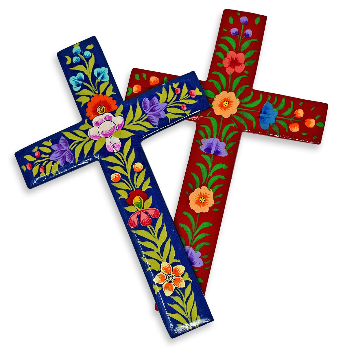 Wooden Cross Wall Decorations