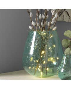 Recycled Lava Glass Vase