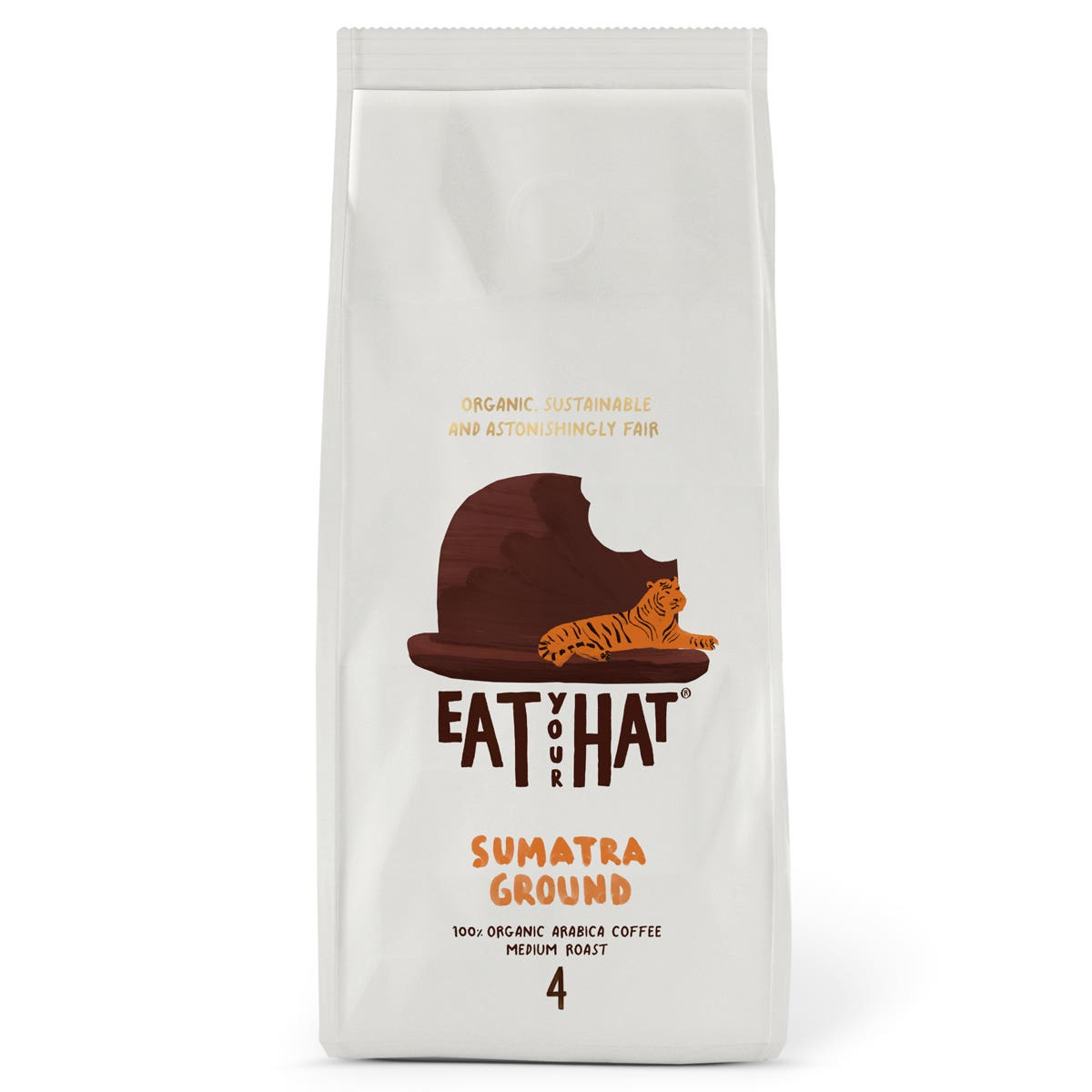 Eat Your Hat Sumatra Ground Coffee (6x200g) CASE