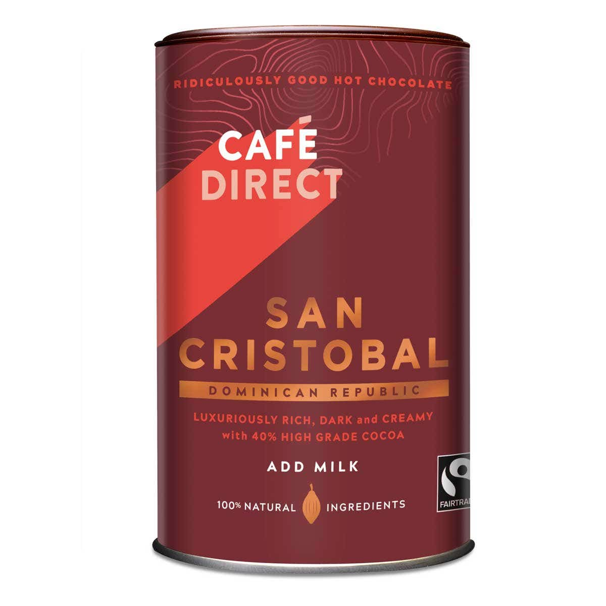 Cafedirect San Cristobal Drinking Chocolate (250g) SINGLE