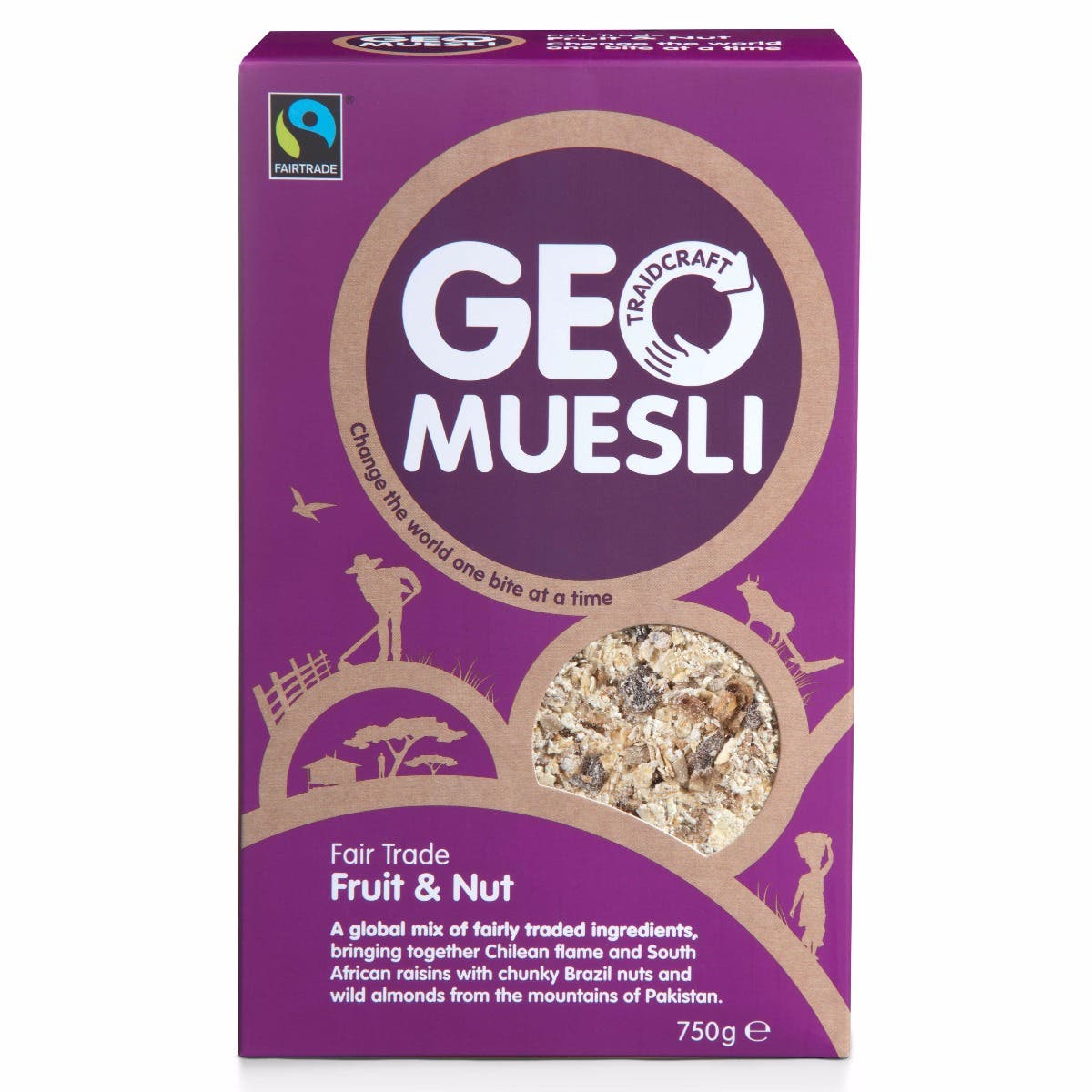 GeoMuesli Fruit & Nut (5x750g) CASE
