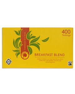 Traidcraft Breakfast Blend Bulk Buy Tea Bags (400 bags)