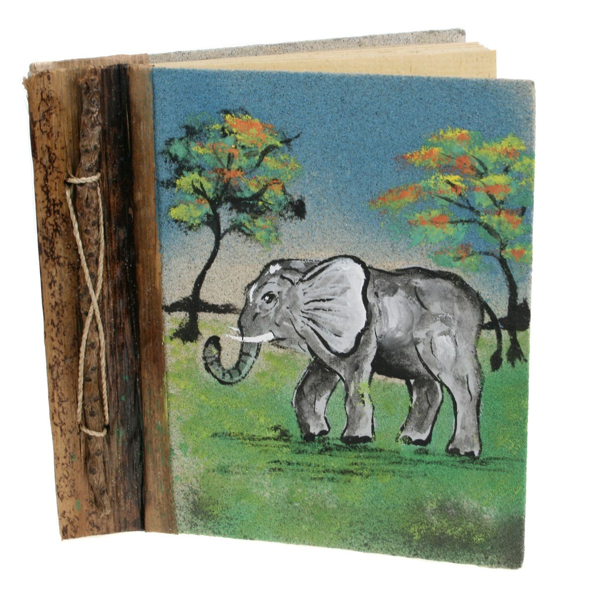 Elephant Sand Painting Notebook
