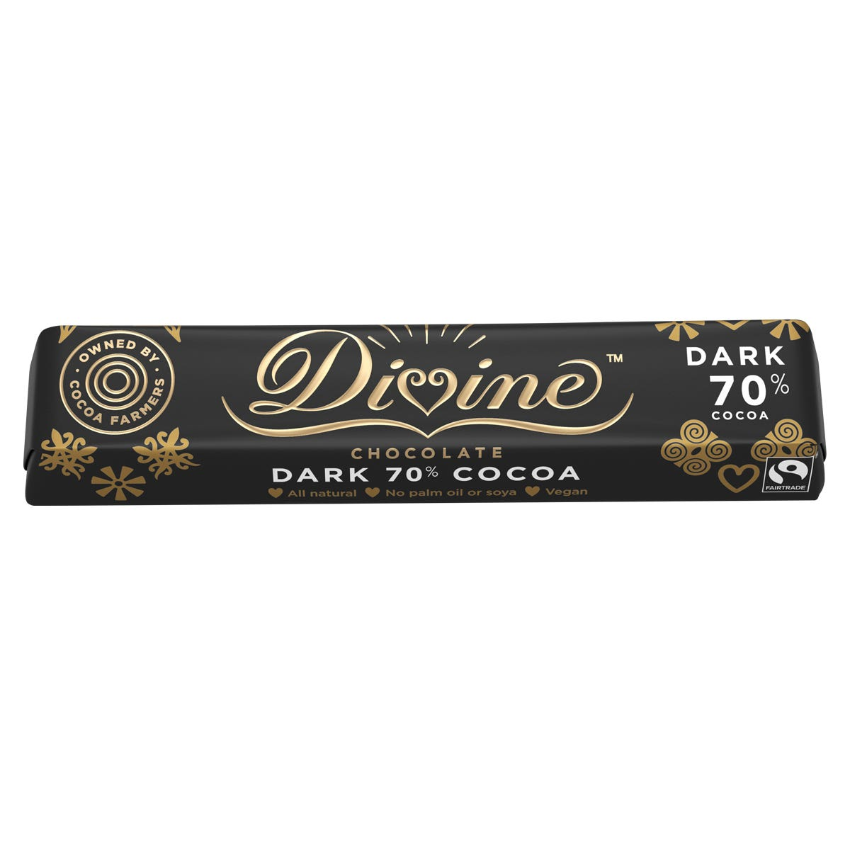 Divine 70% Dark Chocolate (35g)