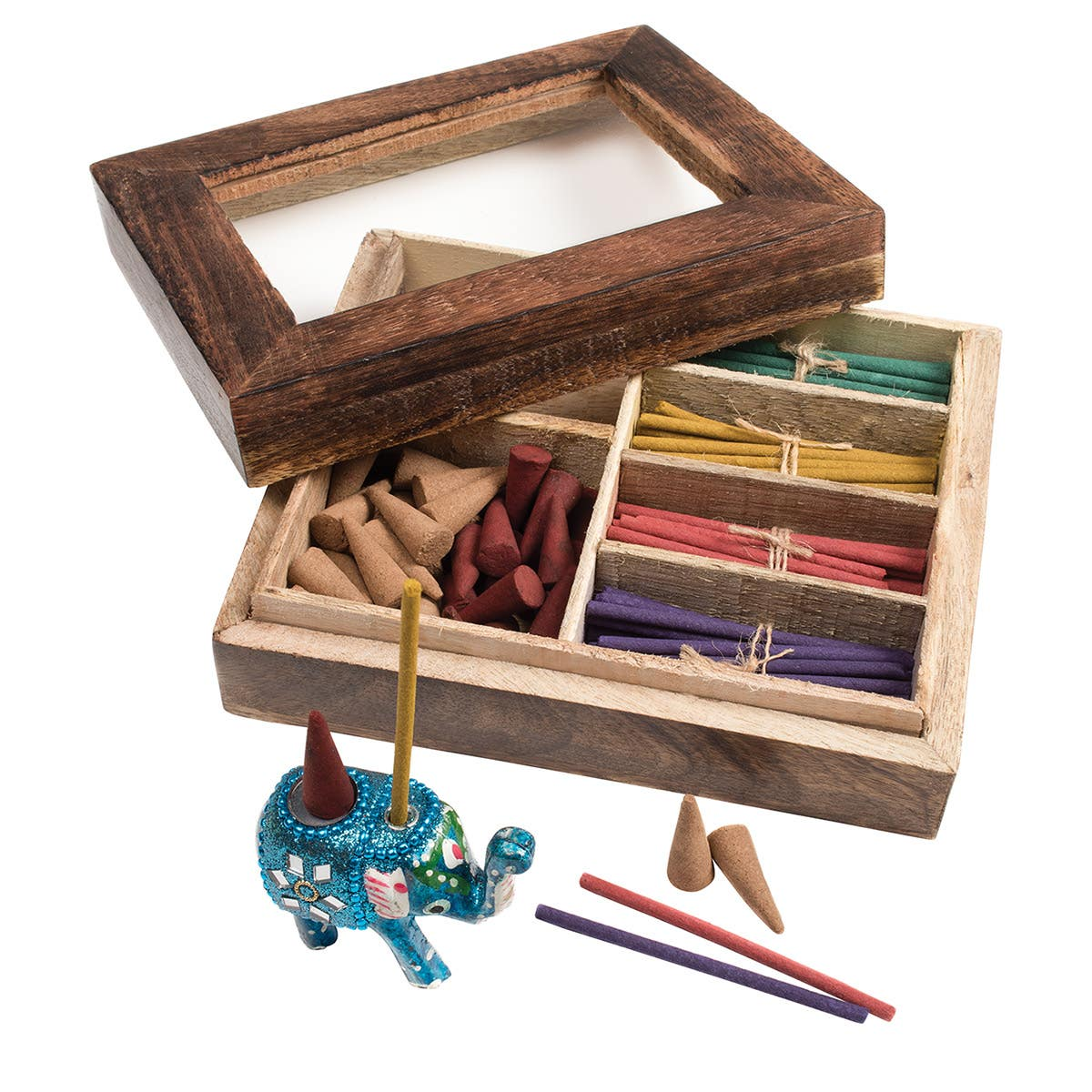 Wooden Incense Gift Set