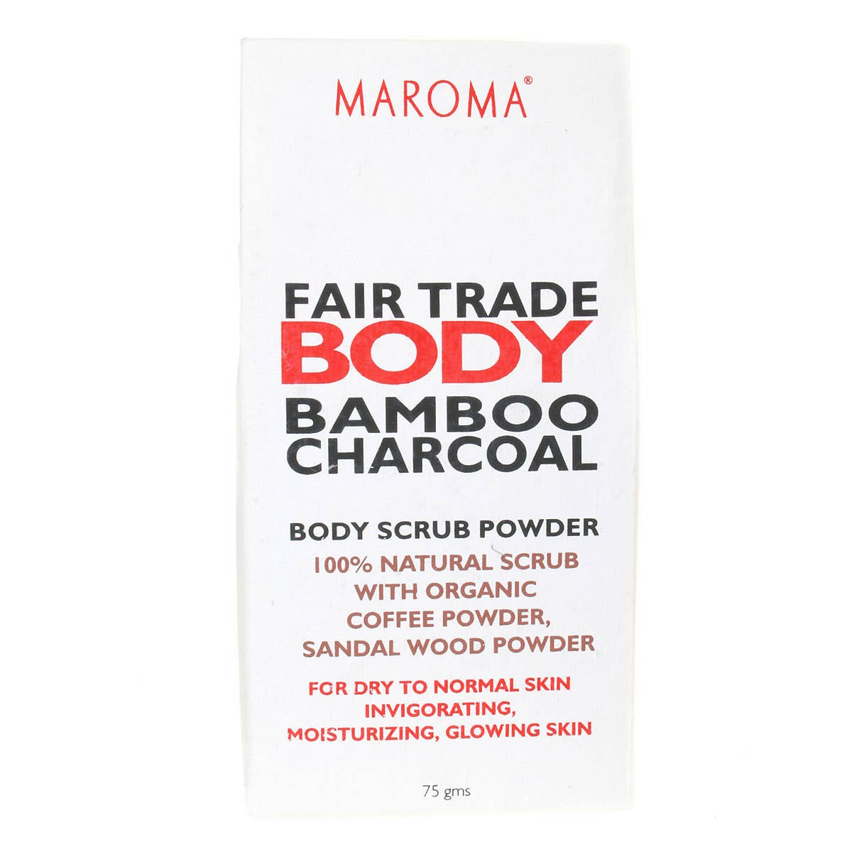 Maroma Body Scrub Powder with Organic Coffee Powder 100g