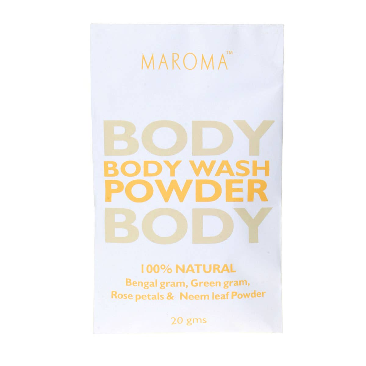 Maroma Body Wash Powder 20g