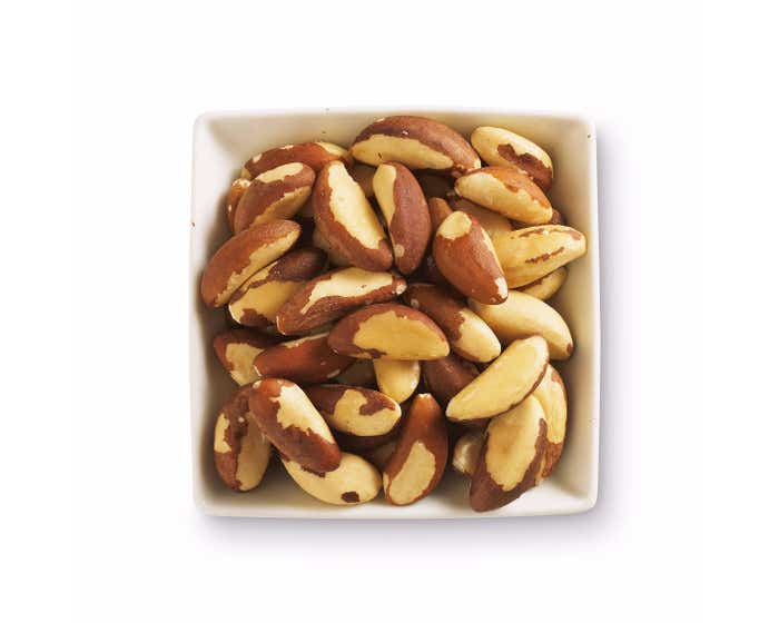 Tropical Wholefoods Organic Whole Brazil Nuts (6x125g) CASE