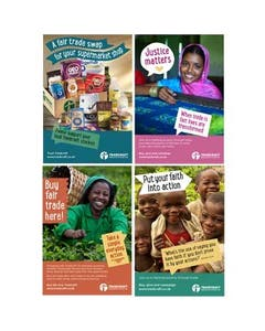 Fair Trader Point of Sale Posters (set of 4)