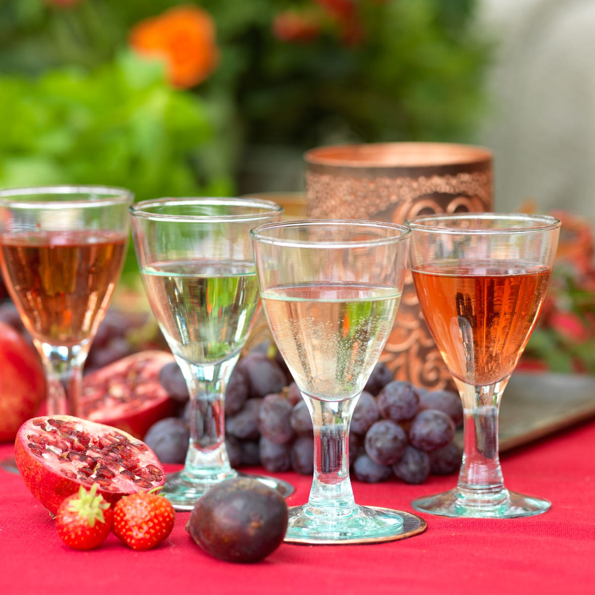 Classic Recycled Wine Glasses