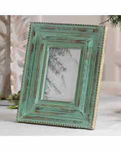Green Rustic Photo Frame