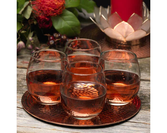 Recycled Glass Tumblers - Set of 4