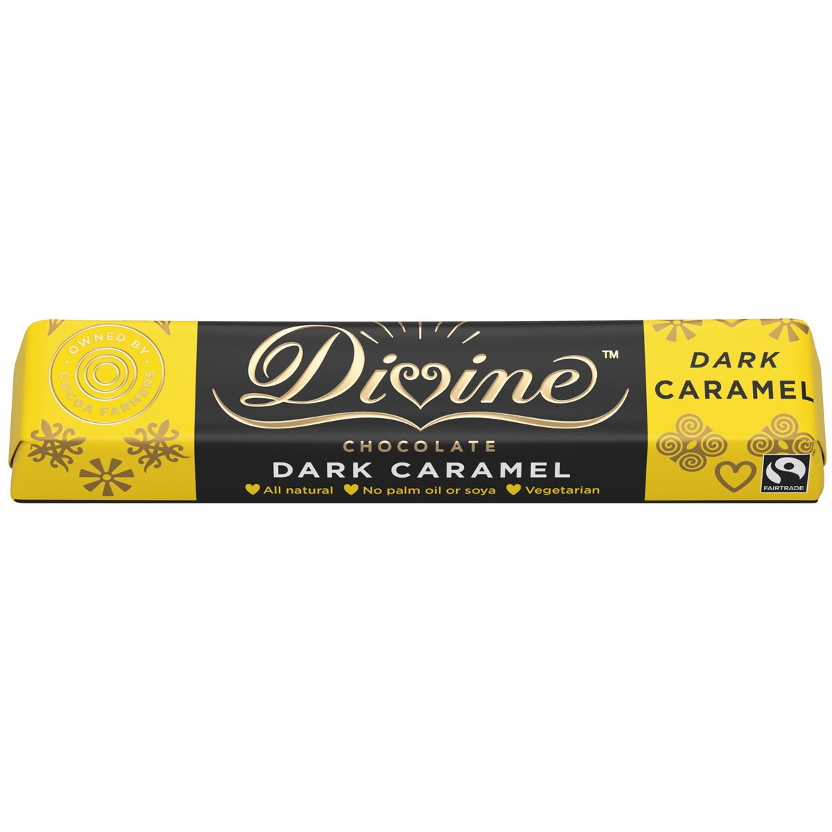 Divine Caramel Dark Chocolate (35g)