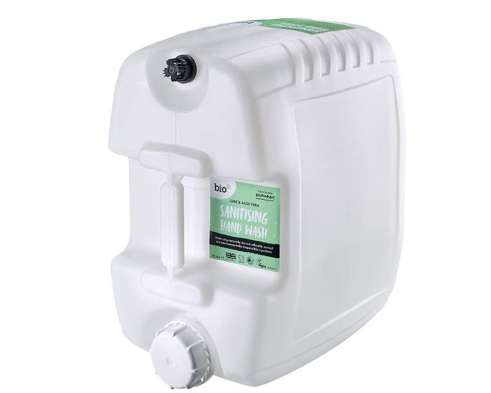 Bio-D Hypoallergenic Sanitising Hand Wash Lime and Aloe Vera (20 Litres)
