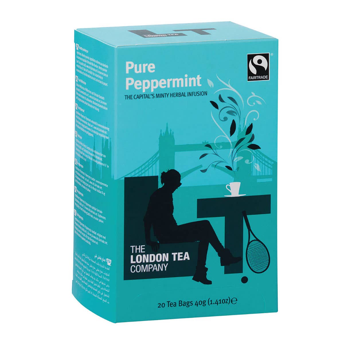 London Tea Company Pure Peppermint Tea Bags (20 bags) SINGLE