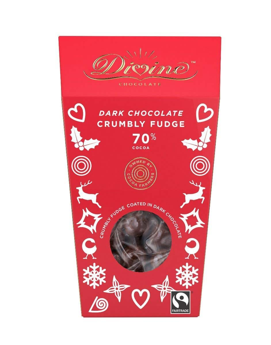 Divine Dark Chocolate Fudge (130g)