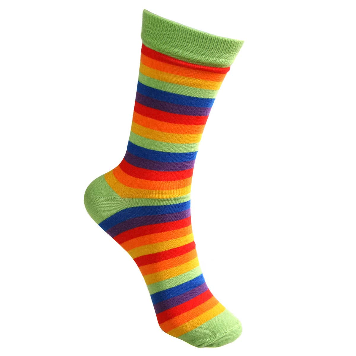 Fair Trade Bamboo Rainbow Socks (UK 3-7)