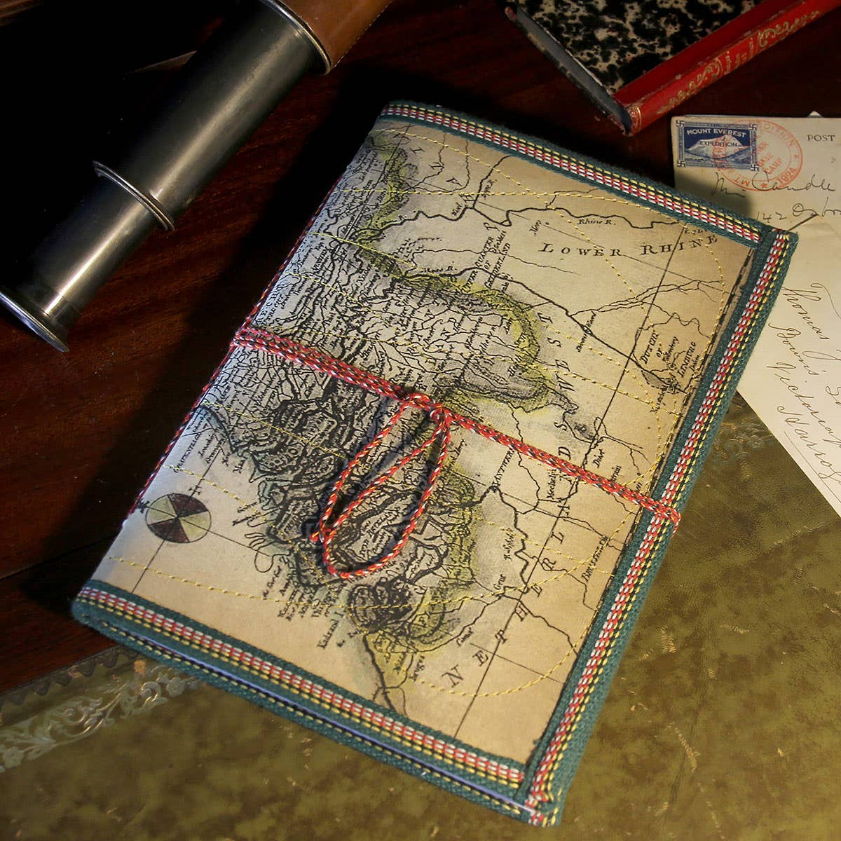 Notebook with Map Cover